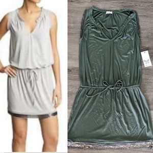 Ella Moss for Piperlime Dark Olive Green Dress